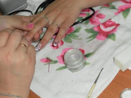 Курсы по наращиванию ногтей в Слуцке: гр.№3