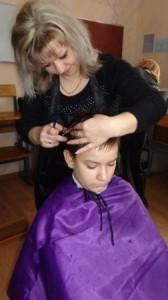 Курсы парикмахеров в Рогачеве: детская стрижка