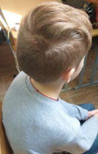 Детская модельная стрижка