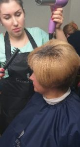Стрижка и укладка волос