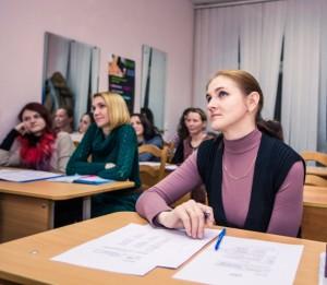 Фото на занятиях польским в в Минске