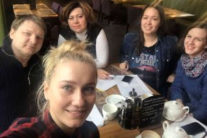 Встреча в кафе