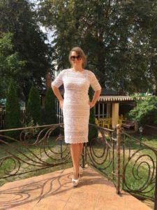 Платье, связанное преподавателем