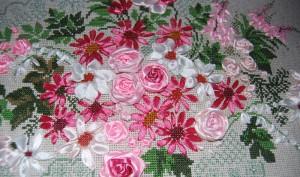 Курсы вышивки ленточками и бисером