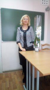 Преподаватель Мария Юльяновна