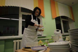 Первый студент готовит свою работу…