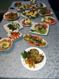 Блюда, приготовленные слушателями курса