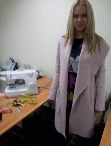 Пошив пальто