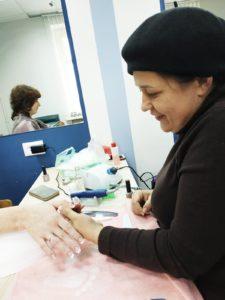 Практическое занятие по наращиванию ногтей