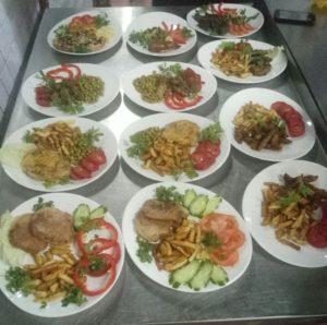 Блюда, приготовленные выпускниками курса