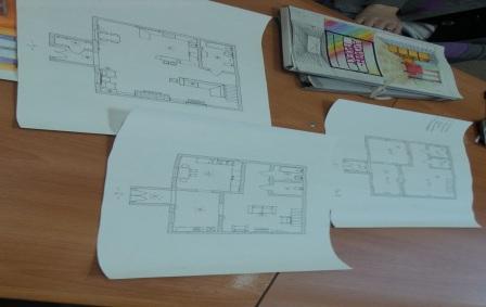 Курсы дизайнеров интерьера в Полоцке: работы слушателей курса