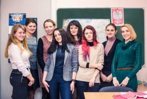 Преподаватель курса Соловьянчик Ксения со своими слушателями