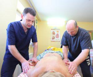 Практическое занятие по массажу спины и рук