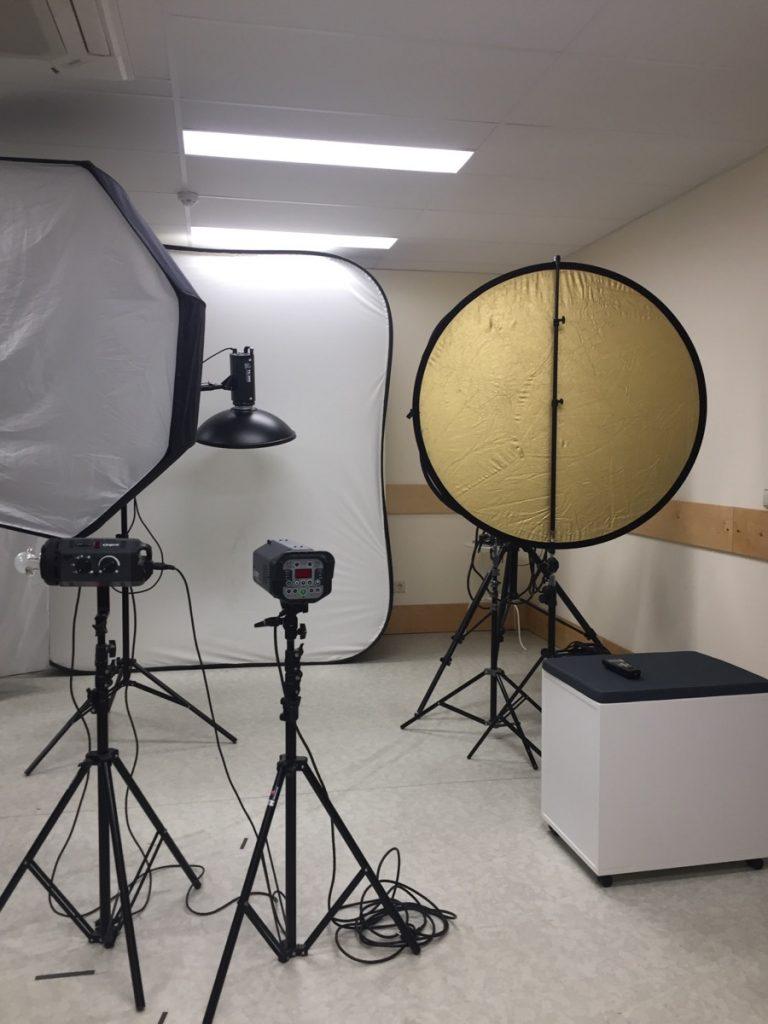 Занятия в фотостудии