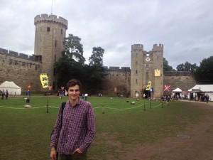 Посещения Warwick Castle в рамках курса по изучения английского в Англии