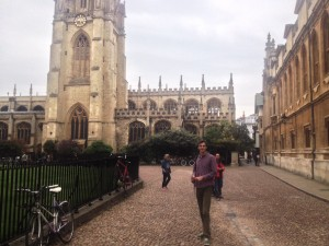 Поездка в Оксфорд в рамках изучения английского языка в Англии.
