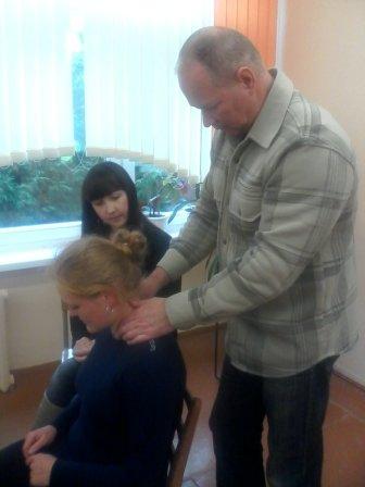 Курсы массажа в Лиде: массаж шеи