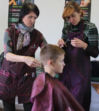 Курсы парикмахеров в Мозыре: детская стрижка