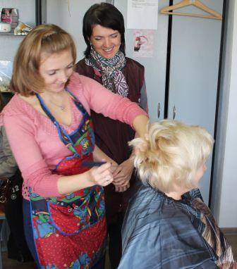 Курсы парикмахеров в Мозыре: начес