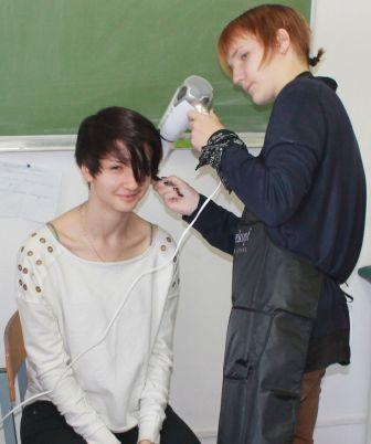 Курсы парикмахеров в Мозыре: укладка волос