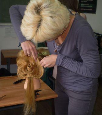 Курсы парикмахеров в Мозыре: создание прически