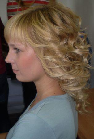 Курсы парикмахеров в Мозыре: укладка волос щипцами
