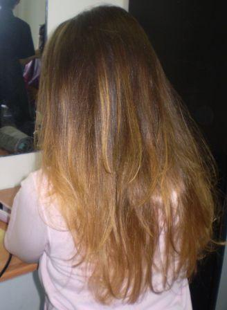 Курсы парикмахеров в Мозыре: окраска кончиков волос