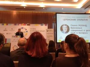 Временно поверенный в делах США в Беларуси Скотт Роланд