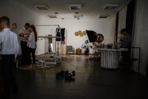 Занятие в фотостудии
