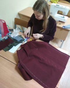 Пошив юбки