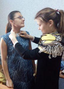 Примерка платья
