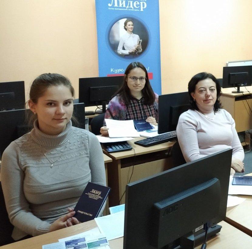 Выпускницы курса