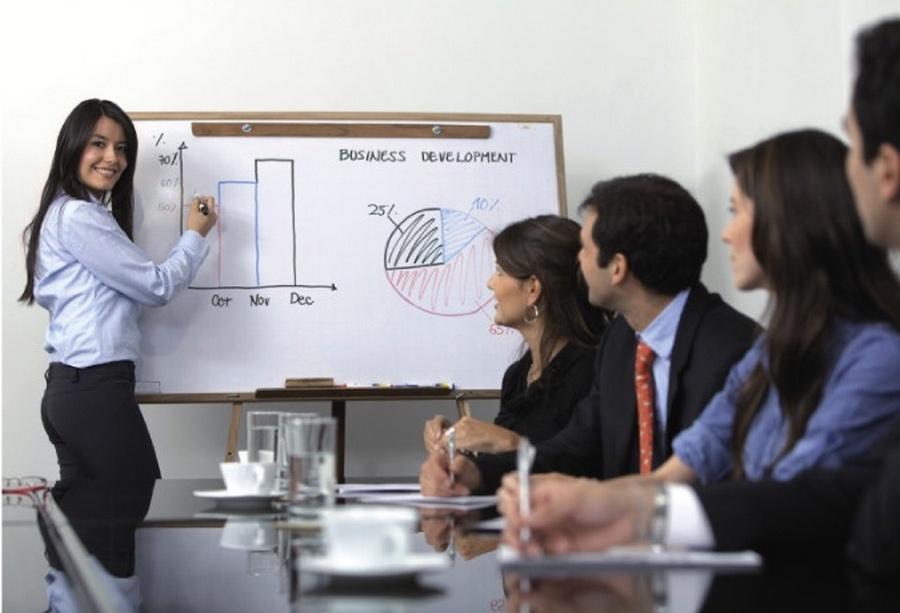 """Семинар """"Основы предпринимательства и разработка бизнес-идей в сельской местности» в Пинске"""