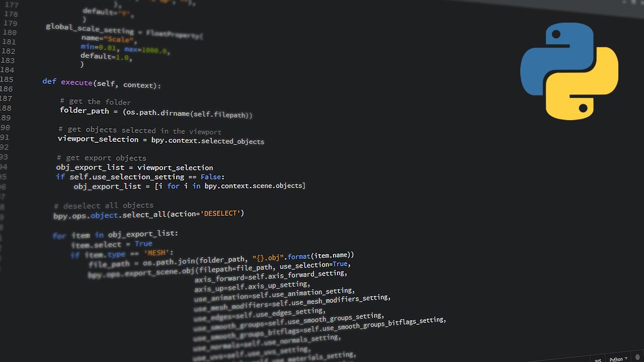 python, code, it