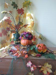 Композиция к празднику хэллоуину